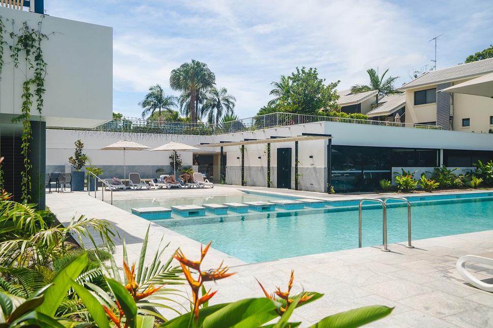 Culgoa Point Beach Resort Pool Area Gallery Size