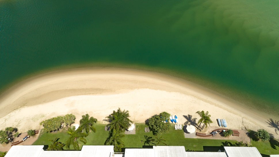 Private Beachfront Gallery Size