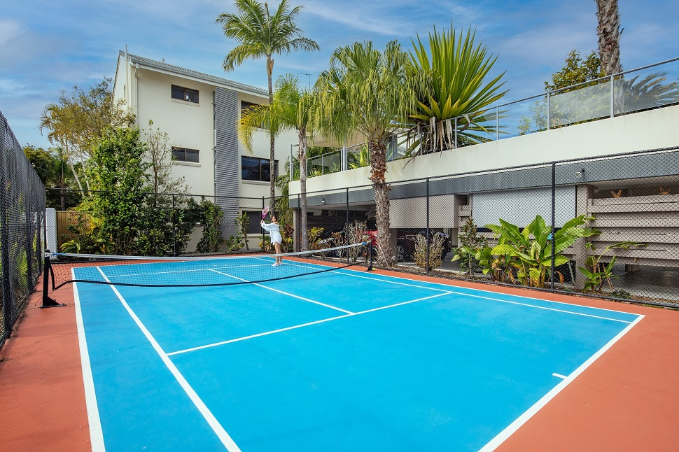 Culgoa Point Beach Resort Tennis Court